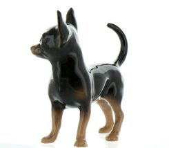 Hagen Renaker Pedigree Dog Chihuahua Large Black and Tan Ceramic Figurine image 7
