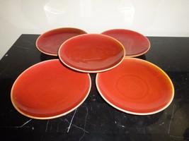 5 WOLFGANG PUCK BISTRO BURNT ORANGE RED SALAD P... - $49.00