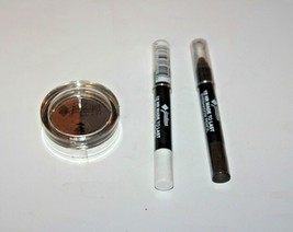 (3) Jordana Color Effect Eyeshadow Powder 13 + Eyeshadow Pencil 01 & 03 Sealed - $12.82