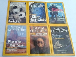 National Geographic Magazine 2006 Full Year Jan - Dec 12 Issues & Maps  - $11.30