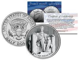 LINCOLN MEMORIAL ** Washington D.C. **  JFK Kennedy Half Dollar U.S. Coin - $8.86