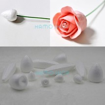 10pcs Different Sizes to Choose Flower Polystyrene Styrofoam Foam Rose B... - $5.10