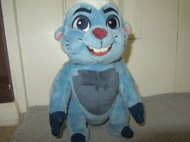 "DISNEY STORE 10"" Plush BUNGA Badger Beaver LION GUARD Blue White Stuffed... - $9.95"