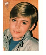 Ricky Schroder teen magazine pinup clipping 80's vintage Bop jacket with... - $3.50