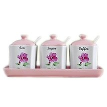 Chinese Ceramics Spice Jars Storage Cans for Kitchen - £28.97 GBP
