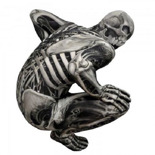Morphsuit Teschio e Ossa Monster Adulto Body Halloween Costume di Qualità