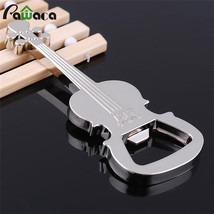 Creative Music Guitar Metal Bottle Opener Beer  Open Key Chains Switch O... - $3.87