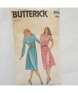 Misses Dress Size 10 Butterick 3135 Pre Cut Loose Fitting Below Mid-Knee - $9.99
