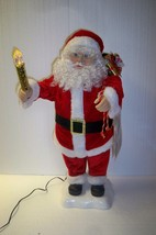 Motion-ette  Santa Claus Christmas Animated & Illuminated Doll - $29.02