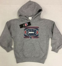 NFL Houston Texans Kids Youth Hoodie Sweatshirt Sweater Size M 5/6 5T NWT - $15.64
