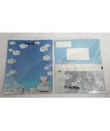 Sanrio 1998 Hello Kitty Blue Angel Stationary Kit Writing Paper Envelope... - $17.81