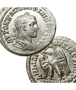 PHILIP II Tetradrachm Choice XF Eagle SC Large Ancient Roman Empire Coin... - $332.10