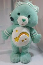 ** CareBear Wish Bear 2004 Lets Get Physical Singing and Dancing Exercis... - $18.81