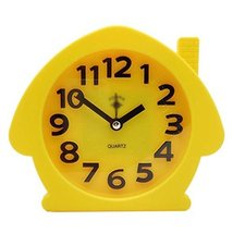 George Jimmy Cute Student Alarm Clock Stylish Silent Bedside Alarm Clock #16 - $29.62