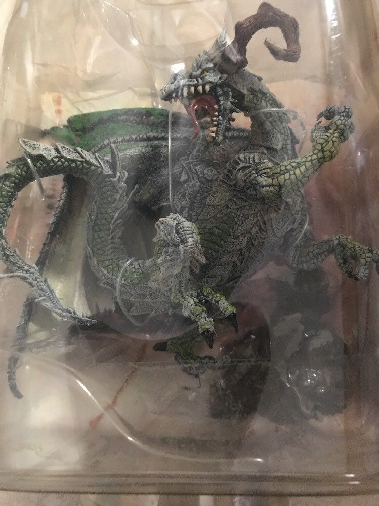 Warrior Dragon McFarlane Dragons Fall Of The Kingdom Figure New Sealed Series 7
