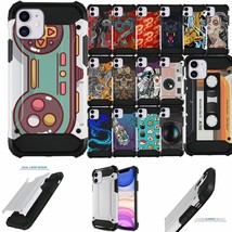 """For [iPhone 11 (6.1"""")][DUO WHITE ARMOR SET10] Shock Dual Layer Case - $10.78"""