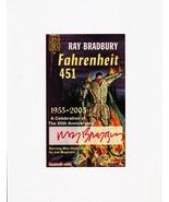 Ray Bradbury FAHRENHEIT 451 50th anniversary SIGNED very special book plate - $245.00