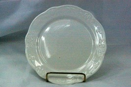 Hankook 1987 Embossed Floral Rim Salad Plate  New From Box - $8.31