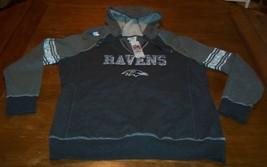 Women's Teen Baltimore Ravens Nfl Football Hooded Sweatshirt 2XL Xxl New w/ Tag - $39.60
