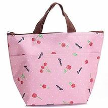 PANDA SUPERSTORE High Capacity The Bag of Lunch Box/Bags(Pink,Free)