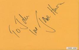 Jane How Signed Vintage Album Page 8MM 2 Miss Potter - $29.69