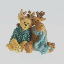 """Boyds Bearstone """"Miles & Marvin..Just Chillin""""- #4034161-1E- New- 2013 -Retired - $69.99"""