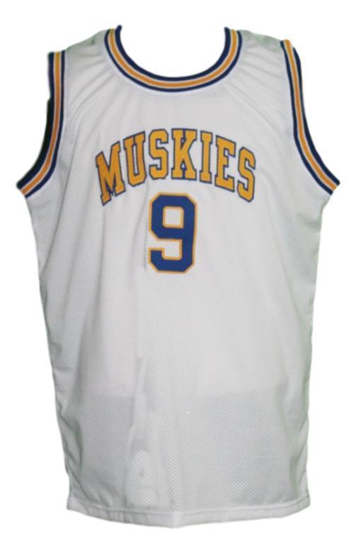 Ricky rubio minnesota muskies aba basketball jersey white   1