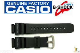 CASIO G-Shock G-9100 Original 21mm Black Rubber Watch BAND Strap G-9100-1V - $47.65