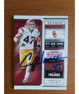 Autographed 2018 Panini Contenders Draft Clay Matthews USC #21  - $19.80