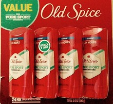 Old spice high endurance deodorant pure sport 4/2.25 Oz 24-hour odor pro... - $11.29