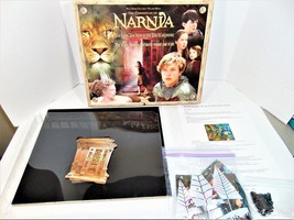 CHRONICLES OF NARNIA LION WITCH & WARDROBE EPIC BATTLE OF GOOD & EVIL BO... - $14.85