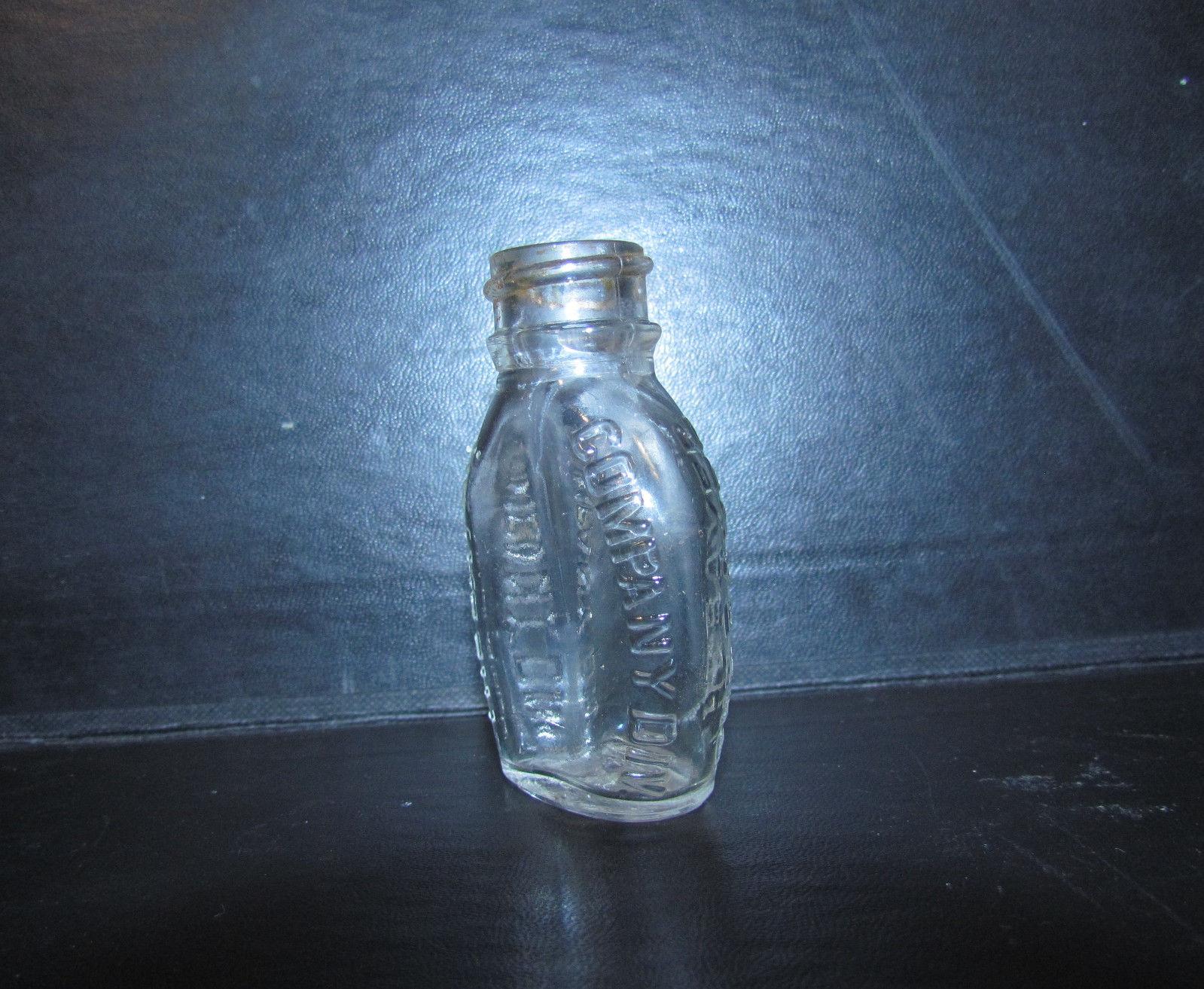 Vintage Bayer Antique Aspirin Bottle Embossed