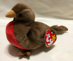 TY BEANIE BABY EARLY, BIRTH DATE 3/20/1997, P.E. STYLE 4190 - NEW OLD ST... - $9.99