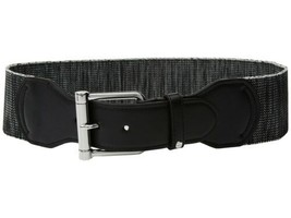 Lauren Ralph Lauren Wide Stretch Belt (Black, M) - $44.90