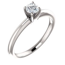 0.25 Carat G VS2 Ideal Cut Diamond Solitaire Ring - $399.00