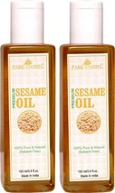 Sesame Oil 200ml/7.2oz | 100% Pure Organic Cold Pressed from unroasted s... - $21.26