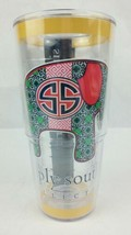 Tervis Tumbler 24 Oz Simply Southern Collection Elephant Geometric Desig... - $24.16