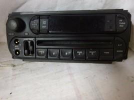 02-06 Dodge Caravan Wrangler Neon Radio Cd Face Plate P05091556AF KZ501 - $13.34
