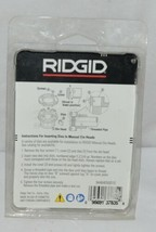 Ridgid 37835 One Inch National Pipe Taper Alloy Threading Die image 2
