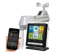 Weather Station Kit the Best of All Wireless AcuRite Pro Digital Color D... - $149.92