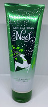 RETIRED Bath & Body Works 'Vanilla Bean Noel' Shea Body CREAM 50% Used - $13.50