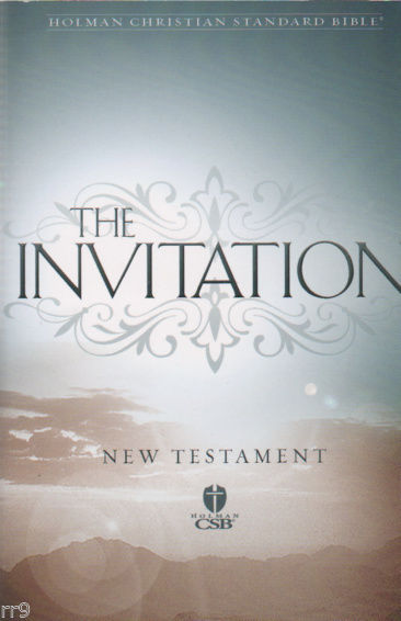 Primary image for the Invitation New Testament Holman Christian Standard Bible Softback Small Book