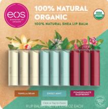 eos USDA Organic Smooth Lip Balm 9 Sticks - $19.70
