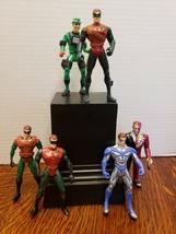 Lot Of 7 Batman Forever Figures! 1995 Kenner! - $38.50