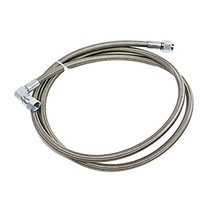 """A-Team Performance Stainless Steel Braided 48"""" -4AN Turbo Oil Feed Line Remote T image 10"""