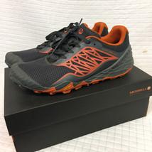 MERRELL All Out Terra Light Trail RUNNING Beige/Orange 10 Vibram J35461 ... - $58.91