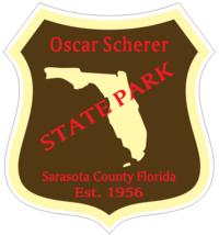 Oscar Scherer Florida State Park Sticker R6774 - $1.45+