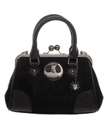 Nightmare Before Christmas Jack Kisslock Handbag Purse Satchel - $1.141,45 MXN