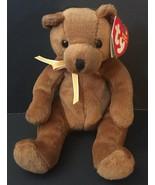 Ty Sherwood Beanie Baby Teddy Bear Miniature Stuffed Animal Plush Toy - $5.93