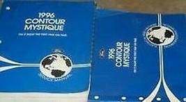 1996 Ford Contour & Mercury Mystique Service Shop Reparatur Manuell Set ... - $47.47